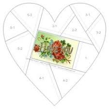 heart pattern, I would like to use this with crazy quilt ... & Wonderful blog with crazyquilt block and embellishment ideas. Adamdwight.com