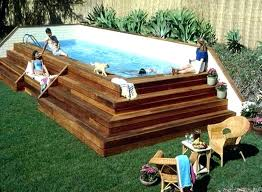 above ground pool deck kit wooden above ground swimming pools pool deck kits above ground pool