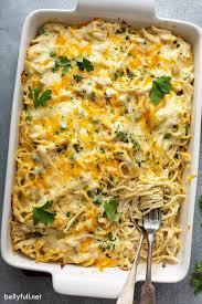 easy en tetrazzini belly full