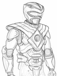 Power Rangers Coloring Pages At Getdrawingscom Free For Personal