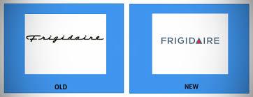 frigidaire logo. frigidaire logo redesign
