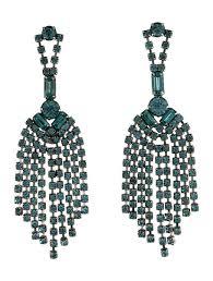 tom binns crystal chandelier earring