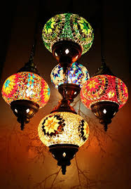 floor lamps multicolour turkish moroccan style mosaic hanging lamp