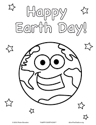 Small Picture clean earth earth day coloring page for kids coloring pages