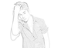 coloring pages justin bieber big of 1017x1200 for sweet looking justin bieber coloring pages to print of out for