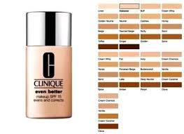 Clinique Even Better Makeup Color Chart Lajoshrich Com
