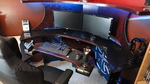 Car Desks Interesting Gaming Desk From Our Series Without Remote Lifthide