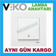 Viko Karre Lamba Anahtarı Light Anahtar Çerçeve Dahil Lamba Anaht Fiyatları  ve Özellikleri