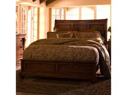 Tuscano King Low Profile Bed with Sleigh Headboard | Morris Home ...