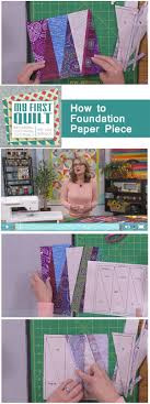 Best 25+ Foundation paper piecing ideas on Pinterest | Paper ... & Learn foundation paper piecing to alleviate the worries about small pieces,  bias edges, and imperfect points in your quilt blocks. Adamdwight.com