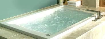 drop in jetted tub bathtubs underscore whirlpool bathtub a dropped into deck b kohler 60 x