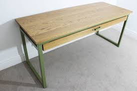 wood office desk. Industrial Desk With Drawers Wood Office