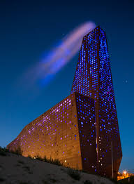 The Energy Tower (Roskilde, Denmark) won in the category 'animated  architecture (