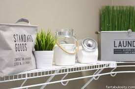 diy laundry room shelving storage