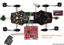 zmr250 v2 build log mini quad with pdb oscar liang Bec Wiring A Quadcopter With zmr250 pdb connection diagram no osd wiring a quadcopter with bec