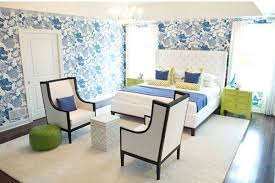 50 Master Bedroom Ideas That Go Beyond The Basics : Blue Colorful Master  Bedroom Touch Of