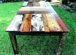 rustic wood patio furniture. Beautiful Wood Wood Outdoor Dining Set Rustic Furniture Idea Handmade Wooden  For On Rustic Wood Patio Furniture E