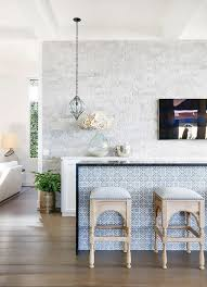 moroccan inspired furniture. Modern Moroccan Inspired Kitchen With Beautiful Patterned Tiles And Styled High Chairs Furniture