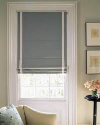 ... Gray Rectangle Modern Cotton Roman Shades Blackout Stained Ideas:  Marvellous roman shades blackout ...