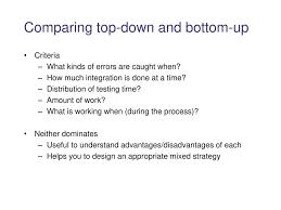 Top Down Design Advantages Cse 331 Software Design And Implementation Ppt Download