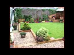 Small Picture Garden Ideas With Sleepers YouTube