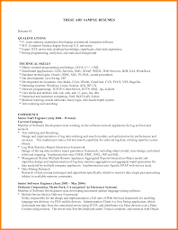 Resume Qualifications Example 60 qualification on resume the stuffedolive restaurant 2