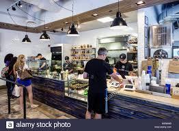 Mediterranean Kitchen Florida Miami Clove Mediterranean Kitchen Restaurant Counter Stock