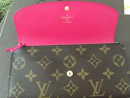 louis vuitton emilie wallet. louis vuitton emilie wallet monogram with hot pink