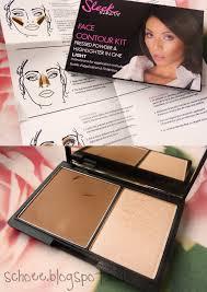 review sleek face contour kit
