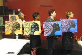 we always have a good time at painting with a twist