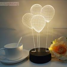 lighting for baby room. Art Deco Table Lamps Free Shipping Balloon 3D Crystal Desk For Bedroom Baby Lighting Room E