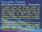 Nolvadex pct effects