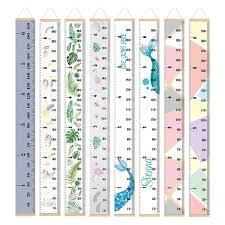 30 Off Chart Us 6 99 30 Off Props Wooden Wall Hanging Baby Height Measure Ruler Wall Decorative Child Kids Growth Chart For Bedroom Home Decoration In Wind