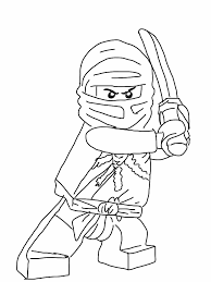 Lego Coloring Pages Lego Ninjago Kai Coloring Pages Kids Coloring