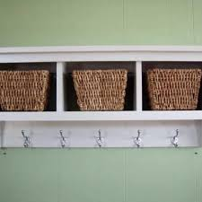 wall shelves with cubbies wall shelf country shelf for baskets bath or entryway w wall cubby