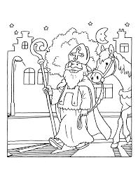 Ingekleurde Boom Kleurplaat Sinterklaas Is Jarig Kleurplaat Sint