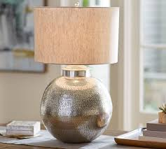 brilliant antique brass abacus hammered metal table lamp in hammered metal table lamp bedroom brilliant leah oversized