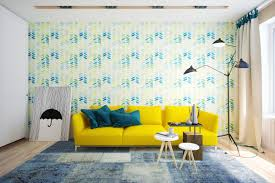 Wallpaper For Living Room Feature Wall Living Room Chevron Living Room Yellow Chevron Living Room