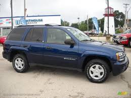 2002 Chevrolet TrailBlazer LS 4x4 in Indigo Blue Metallic - 387002 ...