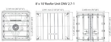 Reefer Container Temperature Chart 8 X 10 Reefer Unit Dnv 2 7 1 Tiger Offshore Rentals