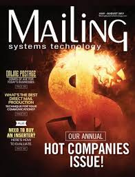 Pitney Bowes Postage Rates 2017 Chart Mailing Systems Technology July August 2017 By Rb Publishing