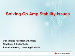 solving op amp ility issues