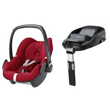 pebble baby car seat and familyfix base bundle robin red from babybaby co uk