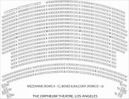 Sf Orpheum Seating Chart Hamilton Www Bedowntowndaytona Com