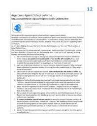 arguments against school uniforms essay  arguments against school uniforms essay