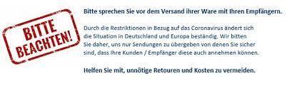 kunden info update 20 03 2020 bhs