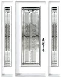 exterior door inserts single entry door with two from classic collection and cachet decorative glass inserts exterior door inserts