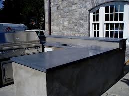 custom concrete countertops outdoor kitchen countertops exterior concrete countertops gray concrete