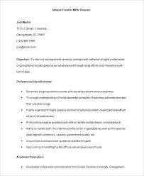 Resume Format Sample For Job Application Resume Web