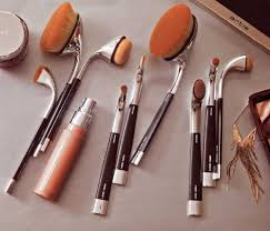new makeup brushes. fluenta collection brushes shop - new oval 7! makeup